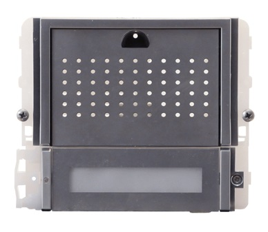 1 Stk Audiofrontmodul mit 1 Taste IKALL METAL SP33401M--