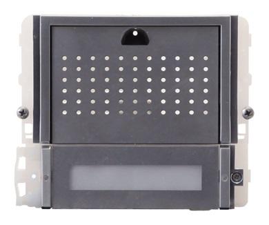 1 Stk Audiofrontmodul mit 2 Tasten IKALL METAL SP33402M--