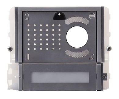1 Stk Videofrontmodul mit 1 Taste IKALL METAL SP33411M--