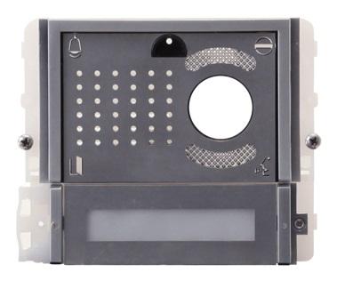 1 Stk Videofrontmodul mit 2 Tasten IKALL METAL SP33412M--