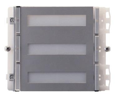 1 Stk Modul für 4 Tasten IKALL METAL für Simplebus/IP Systeme SP33434M--