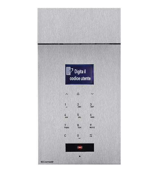 1 Stk 316 SENSE-Panel Audio mit Digital-Tastenfeld, Edelstahl, 2-D SP3451AS--