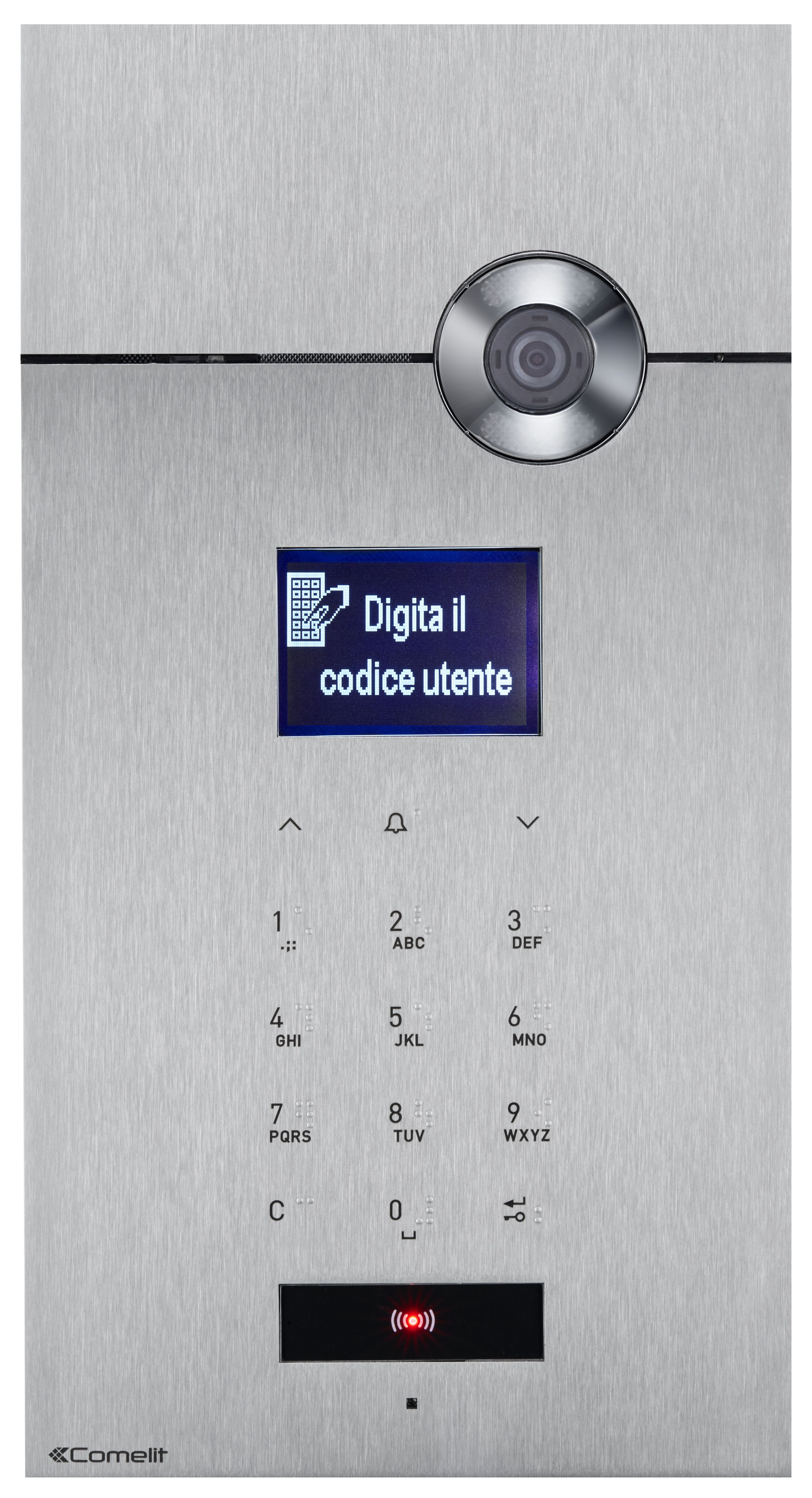 1 Stk 316 SENSE-Panel Video mit Digital-Tastenfeld, Edelstahl, VIP SP3452H---