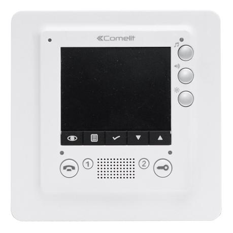 1 Stk SMART Monitor 3,5, weiß, VIP SP6304----