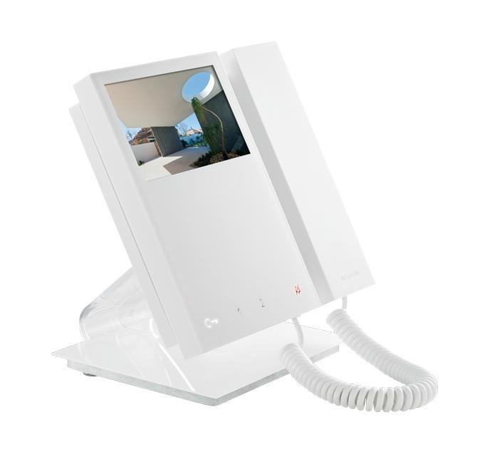 1 Stk Tischkonsole für MINI Monitor mit Hörer (SP6701W---) SP6712----