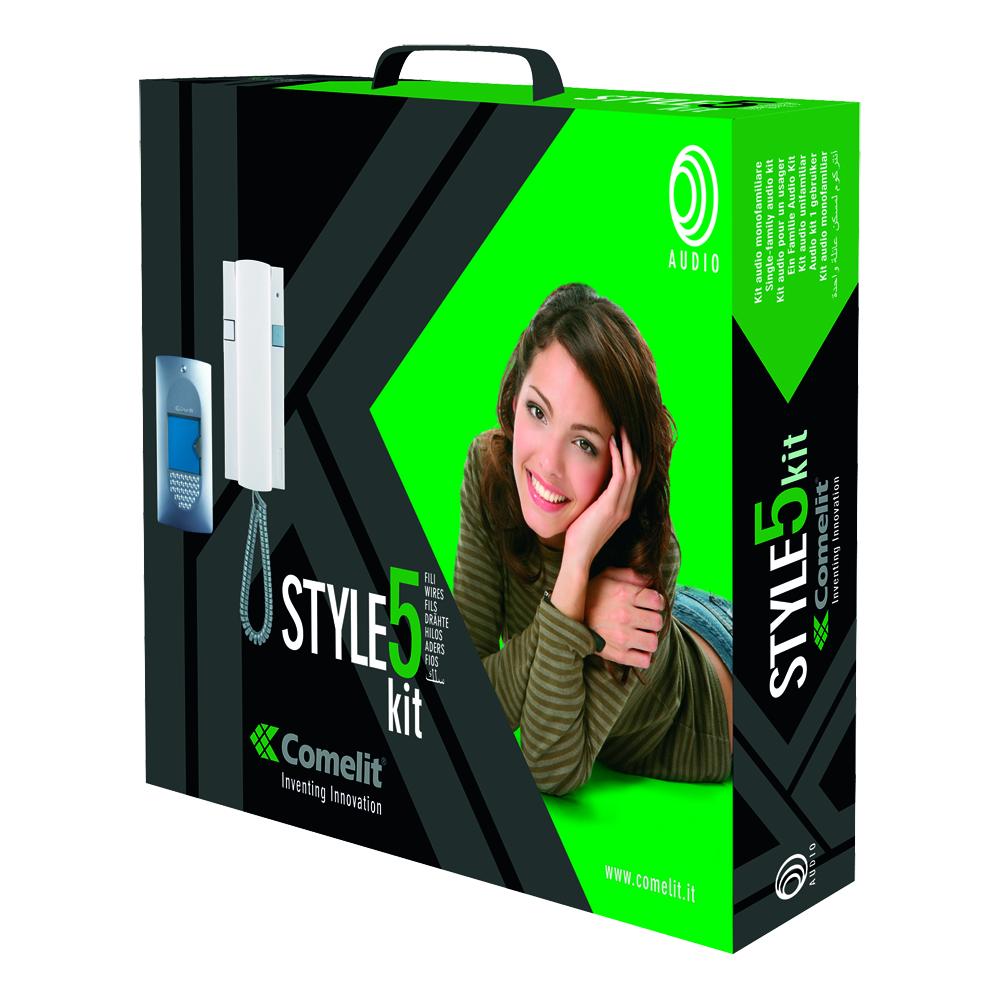 1 Stk Einfamilien-Audiokit Style 5-Drahtsystem SP827100--