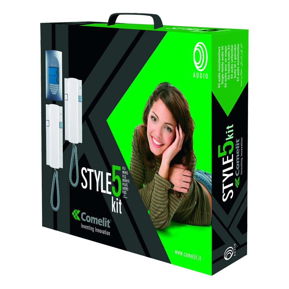 1 Stk Zweifamilien-Audiokit Style 5-Drahtsystem SP827200--