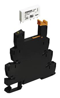 1 Stk SNR-Package 24VDC 6A, 1 Wechsler, hartvergoldete Kontakte,SK ST3P2LC4--