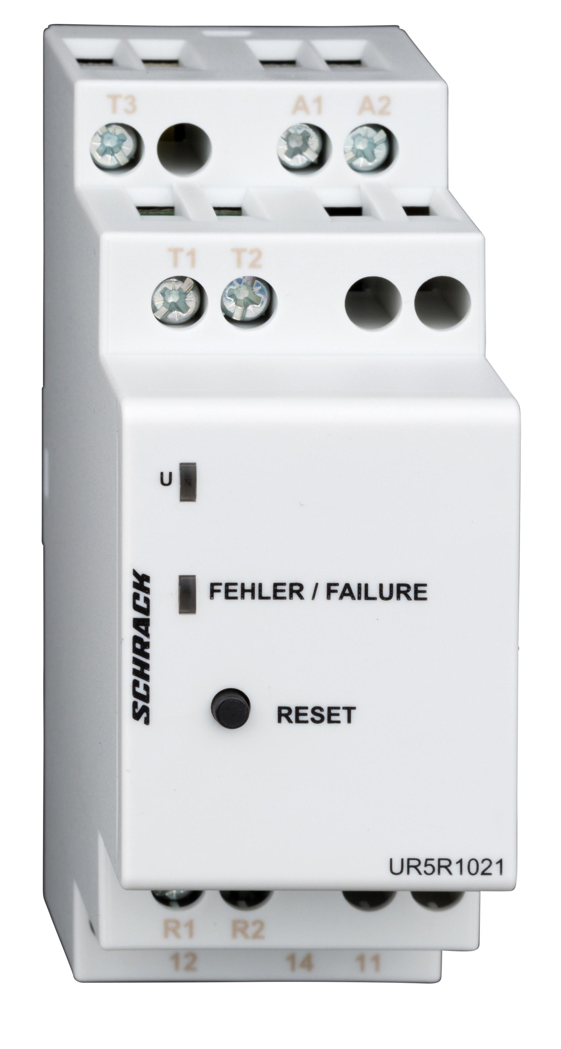 1 Stk Thermistorüberwachungsrelais, 2 TE, 1 Wechsler, 5A, 250VAC UR5R1021--