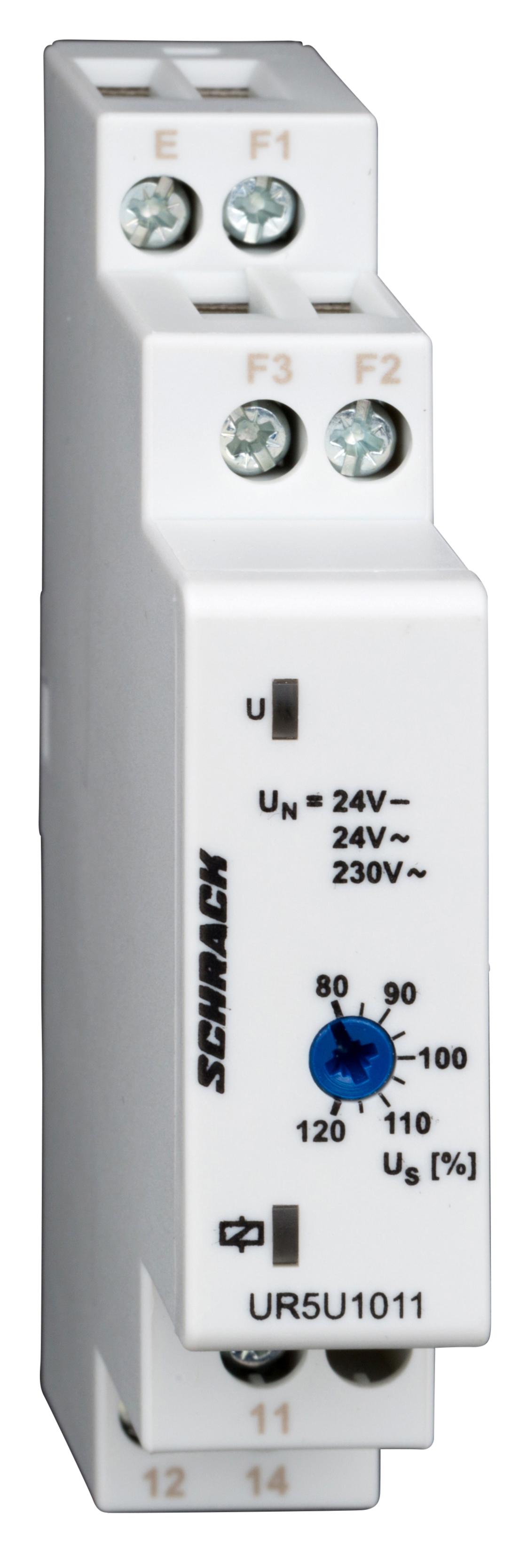 1 Stk Spannungsüberwachungsrelais für 1-Phasennetze AC/DC, 1 polig UR5U1011--