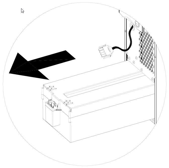 1 Stk Batterieeinschubbox für USDD330/400 ohne Batterien USDDBE3340