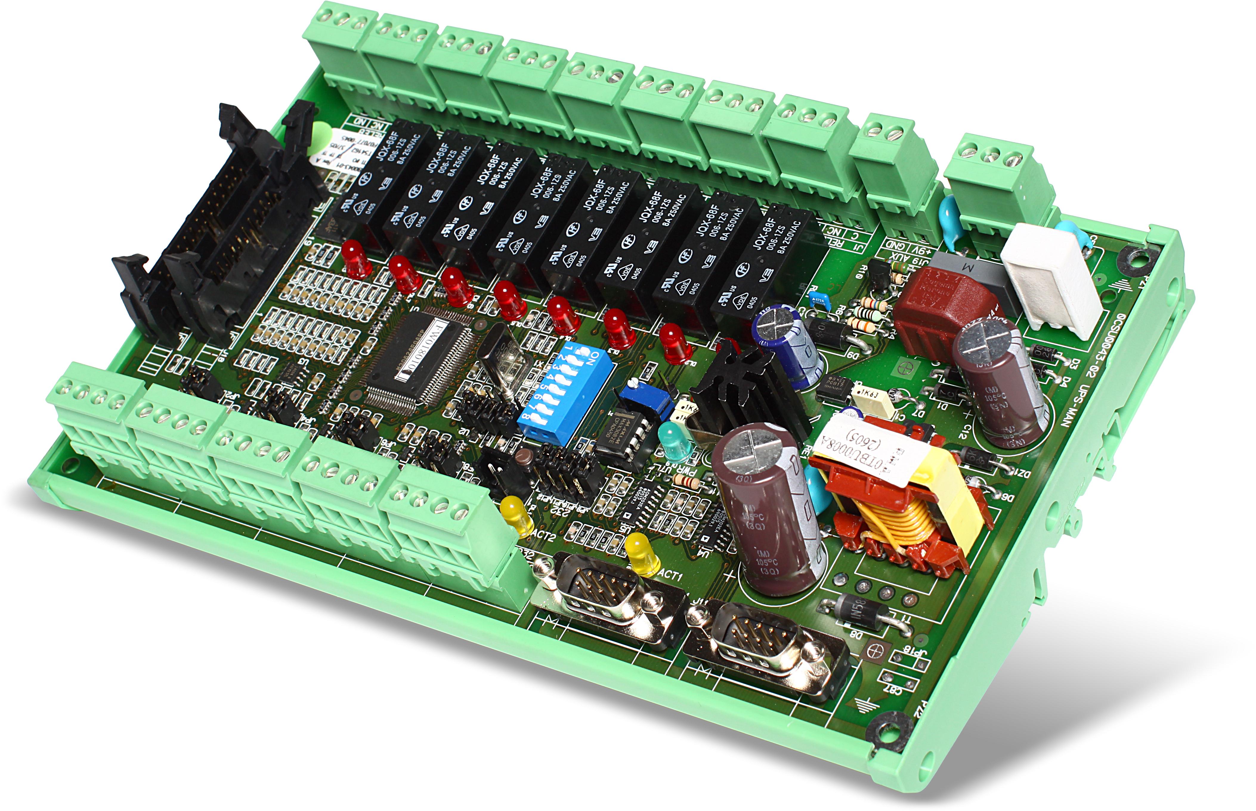 1 Stk Interface 8 Eing 8 Ausg (programmierbar),Modbus -DIN Schiene USMULTIIOD