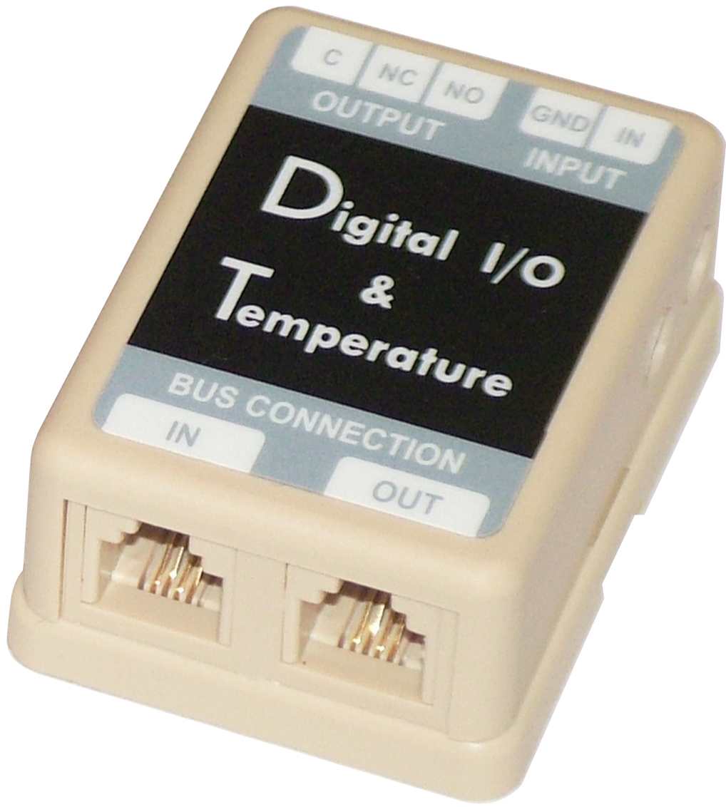 1 Stk USV Sensor Temperatur und digitaler I/O DB9-RJ11 USSENSIOTD