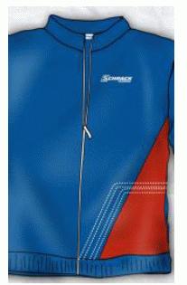 1 Stk Jacke Sweat Raute -M- W-95000133