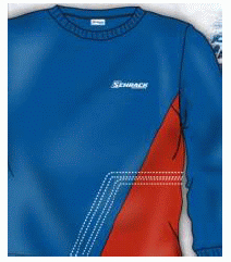 1 Stk Sweat-Shirt Raute -M- W-95000138
