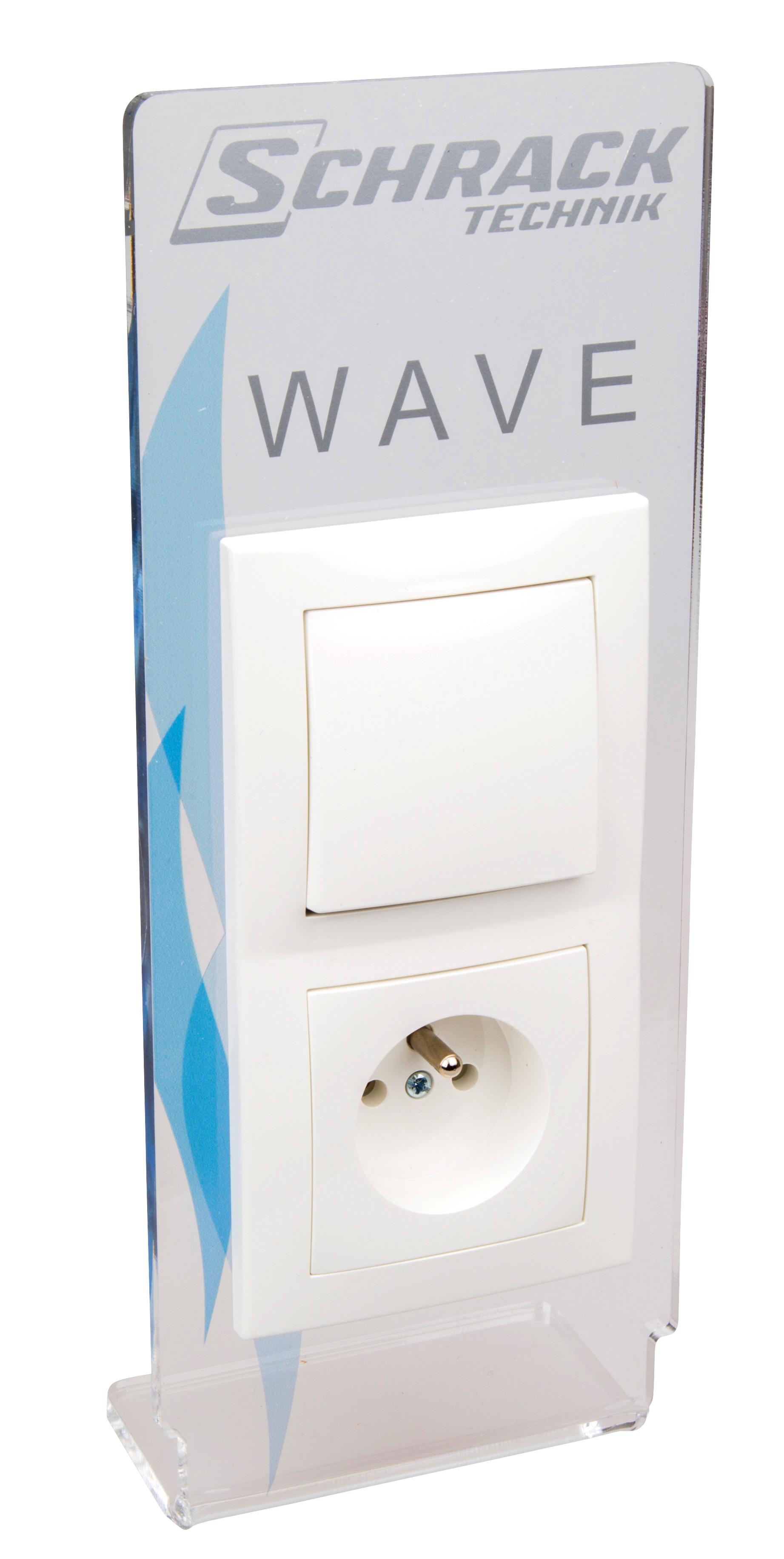 1 Stk Aufsteller Wave French-stand. W-95000177