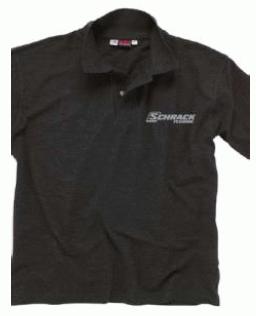 1 Stk Polo-Shirt Langarm grau -M- W-95000258