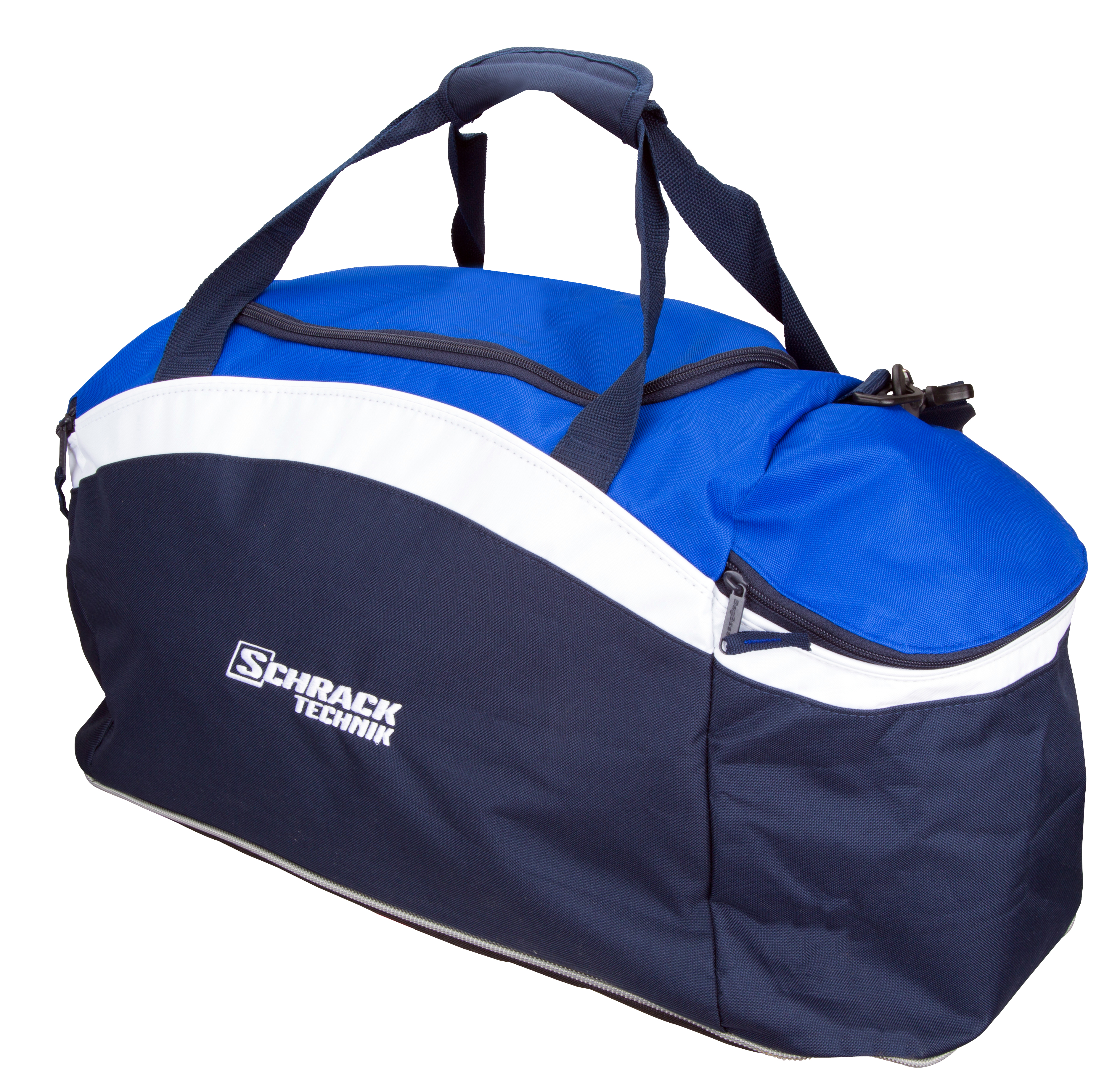 1 Stk Sporttasche blau/weiss W-95000273