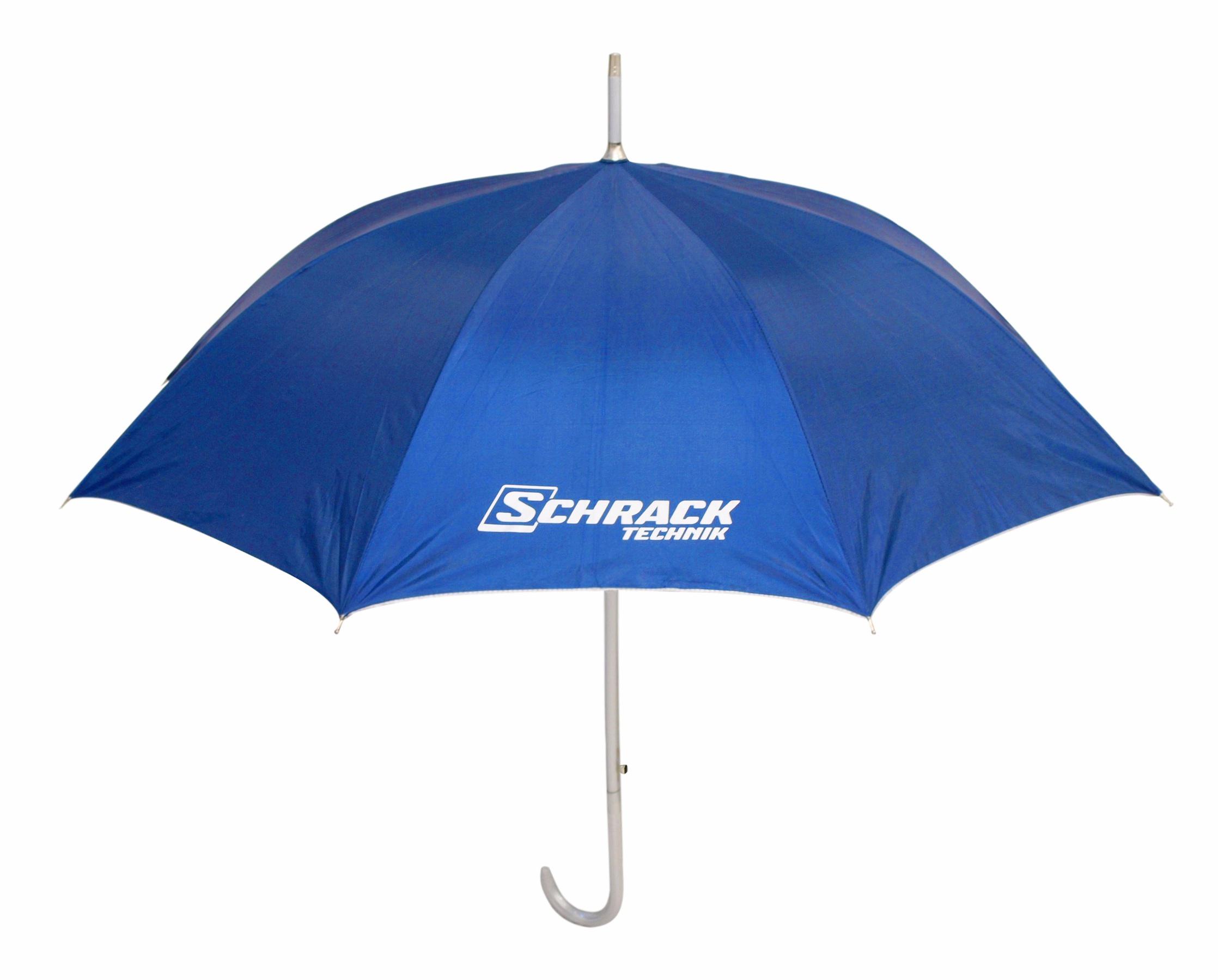 1 Stk Regenschirm blau/silber W-95000274