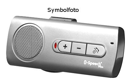 1 Stk Bluetooth V2.1 Freisprecheinrichtung silber W-95000353