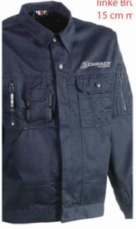 1 Stk Bund-Jacke-XL wasserabw., mit vielen Taschen W-95000458
