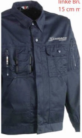 1 Stk Bund-Jacke-XXL wasserabw., mit vielen Taschen W-95000459