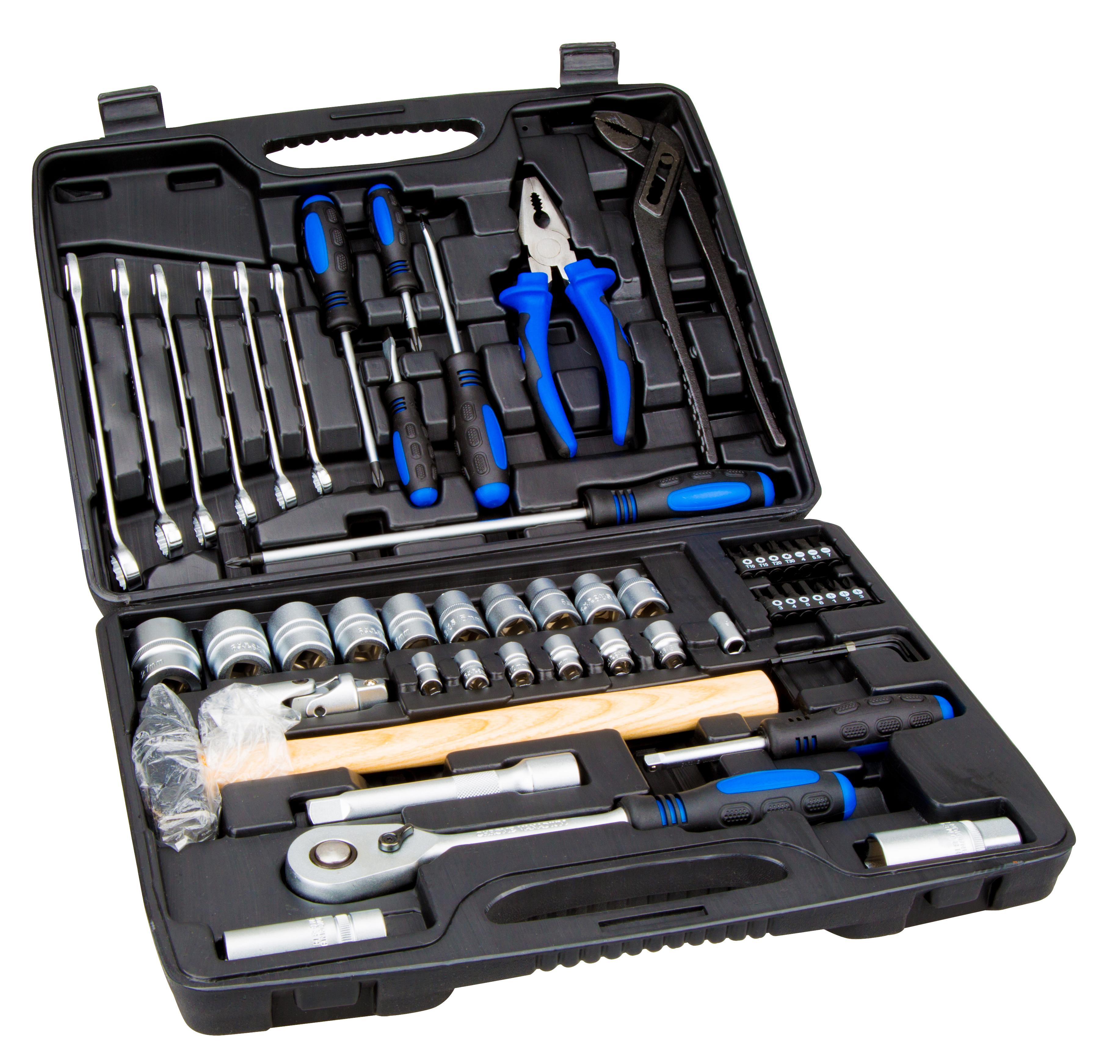 1 Stk Werkzeugkoffer 56-teilig W-95000534