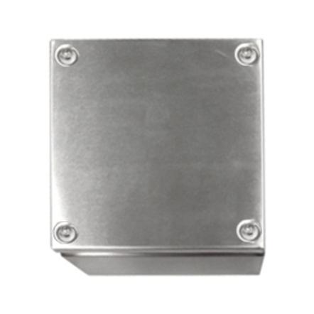 1 Stk Klemmkasten Edelstahl 200x200x80mm, IP66, IK08, AISI 304L WKE202008-