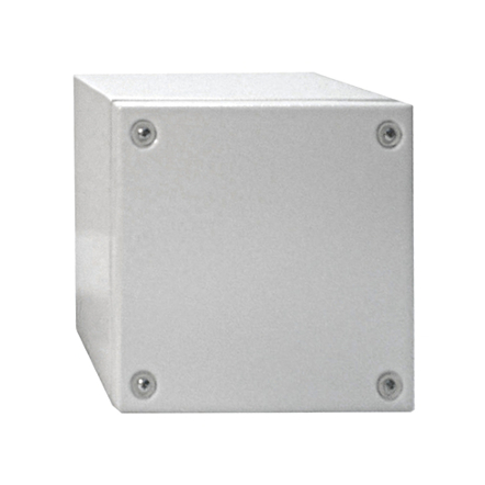 1 Stk Klemmkasten Stahlblech 200x200x80mm, IP66, IK08, RAL7035 WKS202008-