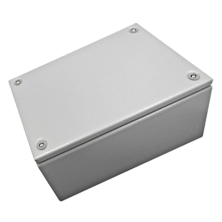 1 Stk Klemmkasten Stahlblech 200x300x120mm, IP66, IK08, RAL7035 WKS203012-