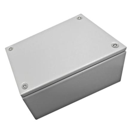 1 Stk Klemmkasten Stahlblech 200x400x80mm, IP66, IK08, RAL7035 WKS204008-