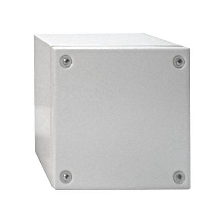 1 Stk Klemmkasten Stahlblech 400x400x120mm, IP66, IK08, RAL7035 WKS404012-