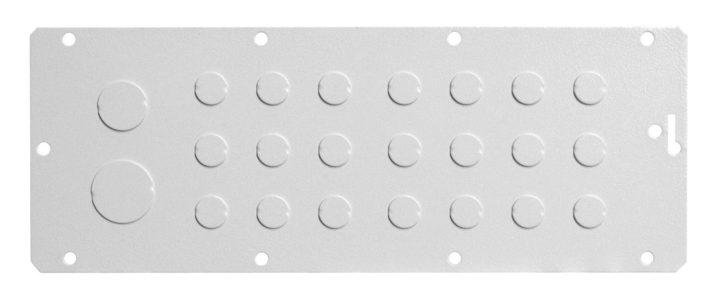 1 Stk Flansch 310x96, Ausprägung 21xM16, 1xM32, 1xM25 WSFA0022--
