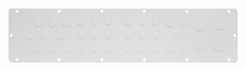 1 Stk Flansch 510x96, Ausprägung 18xM16, 14xM20, 3xM25,1xM32 WSFA0042--