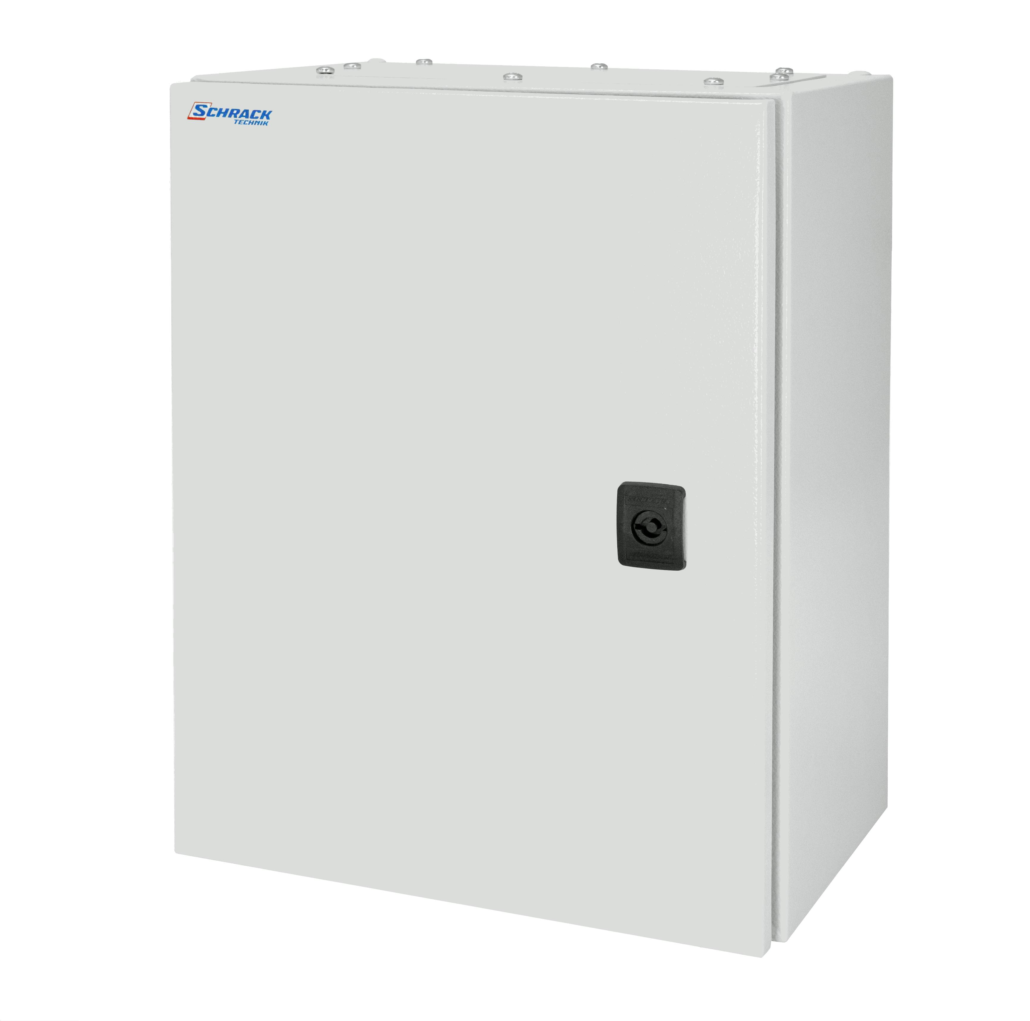 1 Stk Wandschrank Mono IP66 H=1200 B=800 T=400 Stahlblech WSM1208400