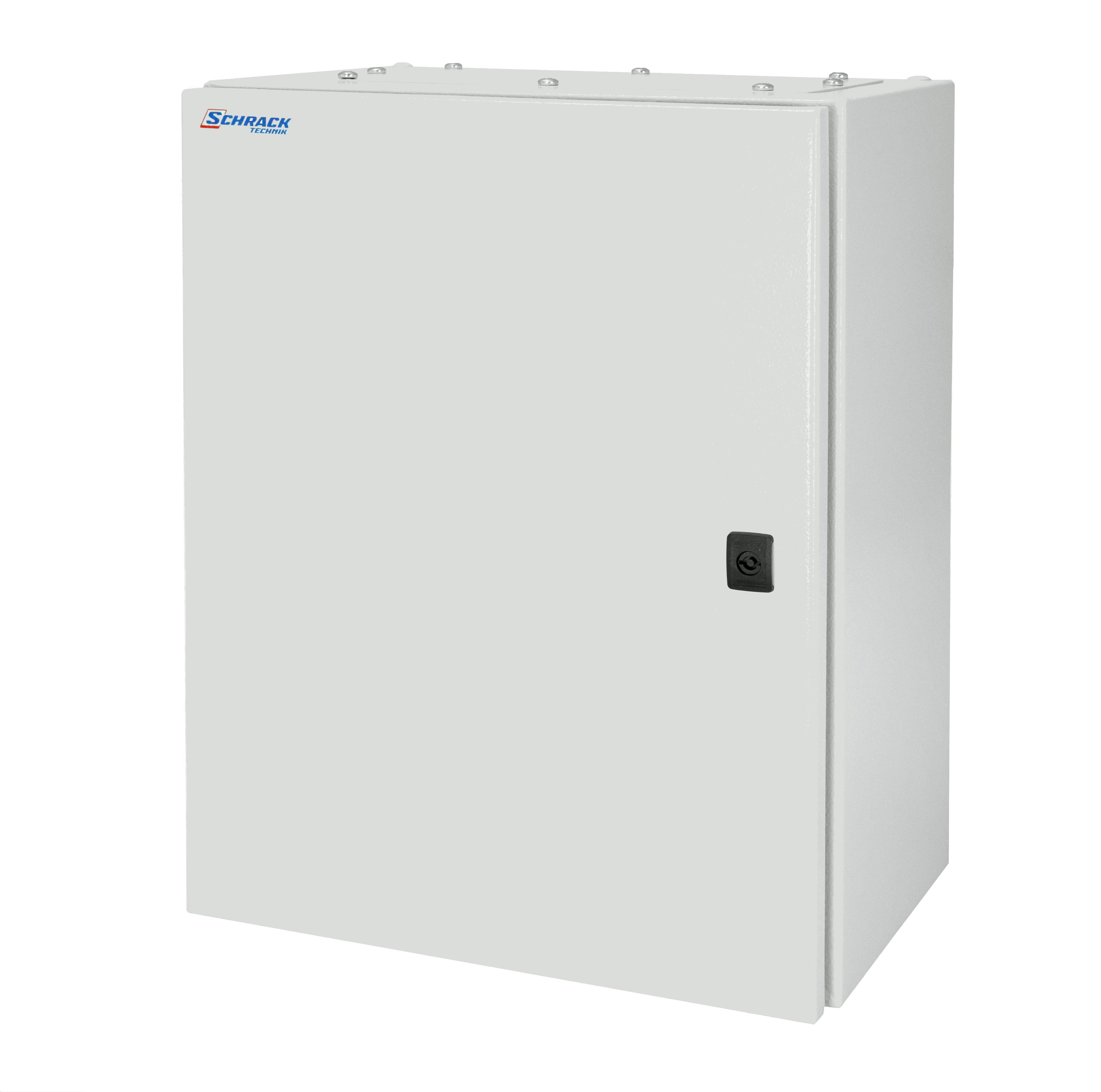 1 Stk Wandschrank Mono IP66 H=400 B=400 T=210 Stahlblech WSM4040210