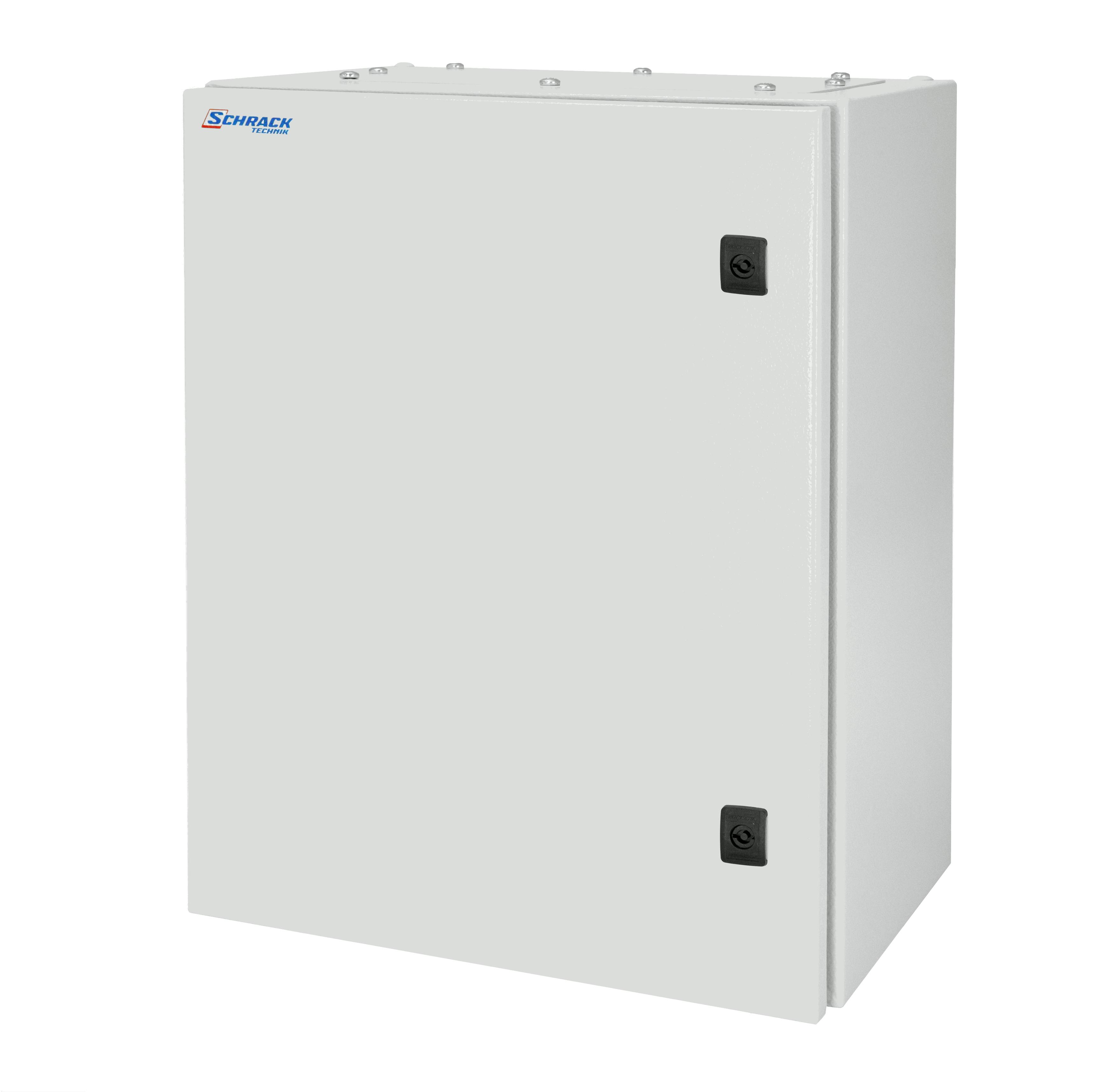 1 Stk Wandschrank Mono IP66 H=800 B=800 T=300 Stahlblech WSM8080300