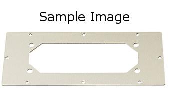 1 Stk Verbindungsflansch Typ C, B=410mm T=96mm WSVBF003--
