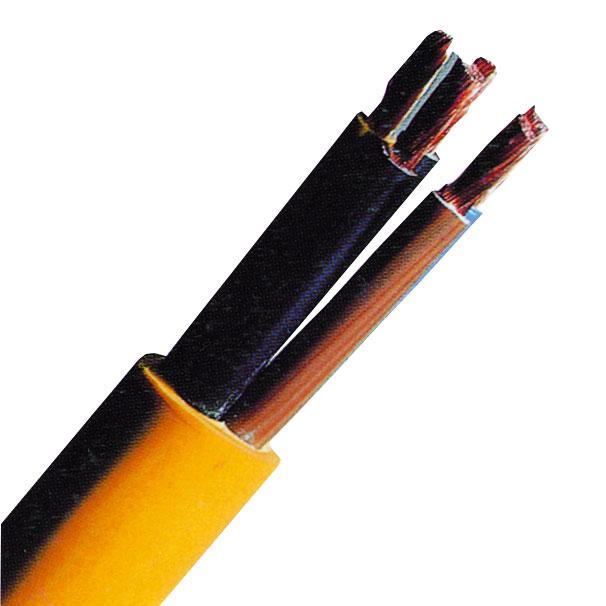 100 m XYMM-J 3x1,5 K35 gelb, PVC Baustellenleitung 100m Ring XC061101C-