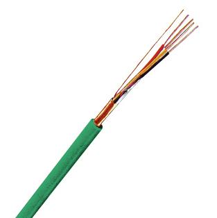 100 m J-Y(ST)Y 2x2x0,8 grün, MSR/EIB Installationskabel XC15400109