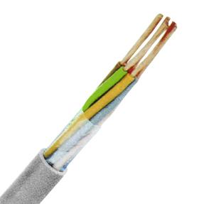 100 m LiYY 2x0,14 grau, Elektronik-Steuerleitung, feindrähtig XC170101--
