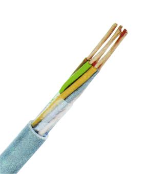 100 m LiYY 5x0,5 grau, Elektronik-Steuerleitung, feindrähtig XC170155--