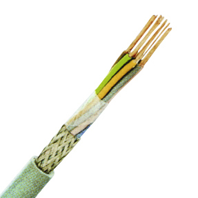 100 m LiYCY 2x0,14 grau, Elektronik-Steuerleitung geschirmt XC170201--
