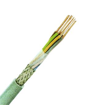 100 m LiYCY 2x0,5 grau, Elektronik-Steuerleitung geschirmt XC170257--