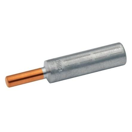 1 Stk Al-Pressverbinder mit Cu-Bolzen, 25mm² XCZ344R25-