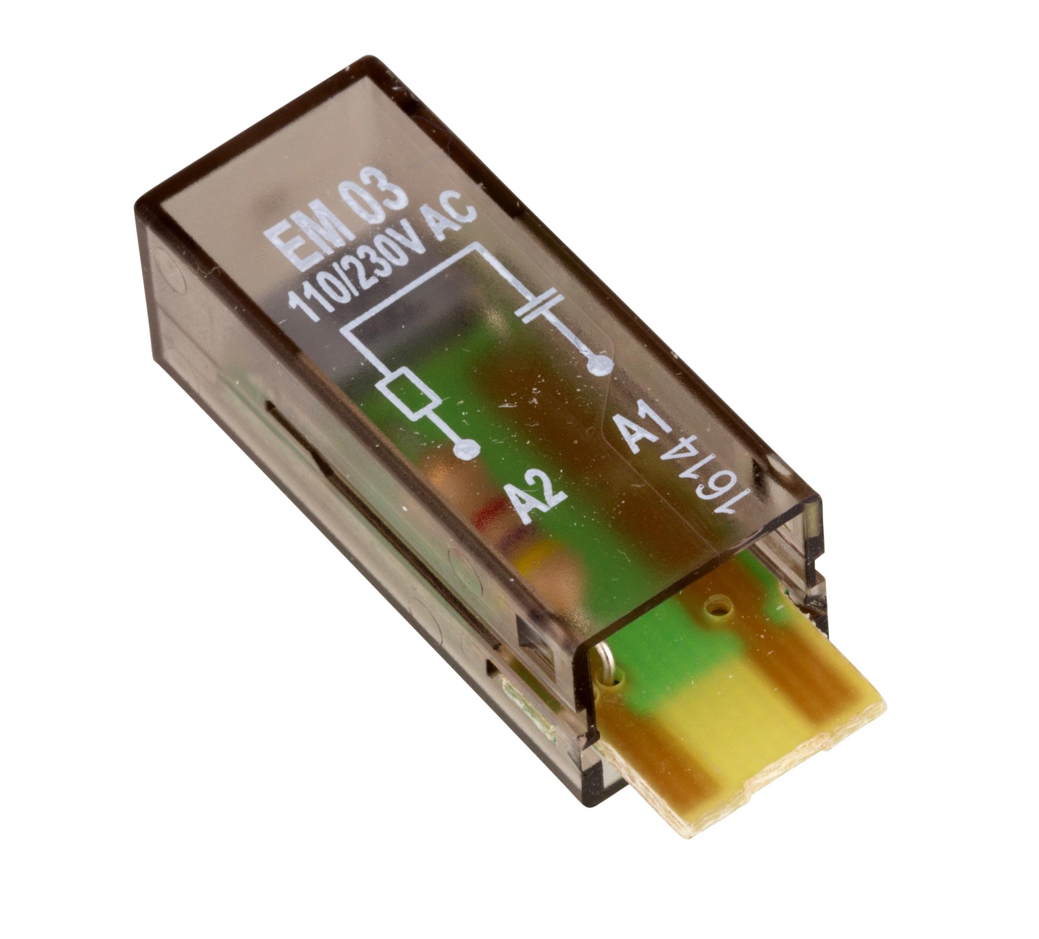 1 Stk RC-Steckmodul, 110-230V AC, EM03 YMRCW230--
