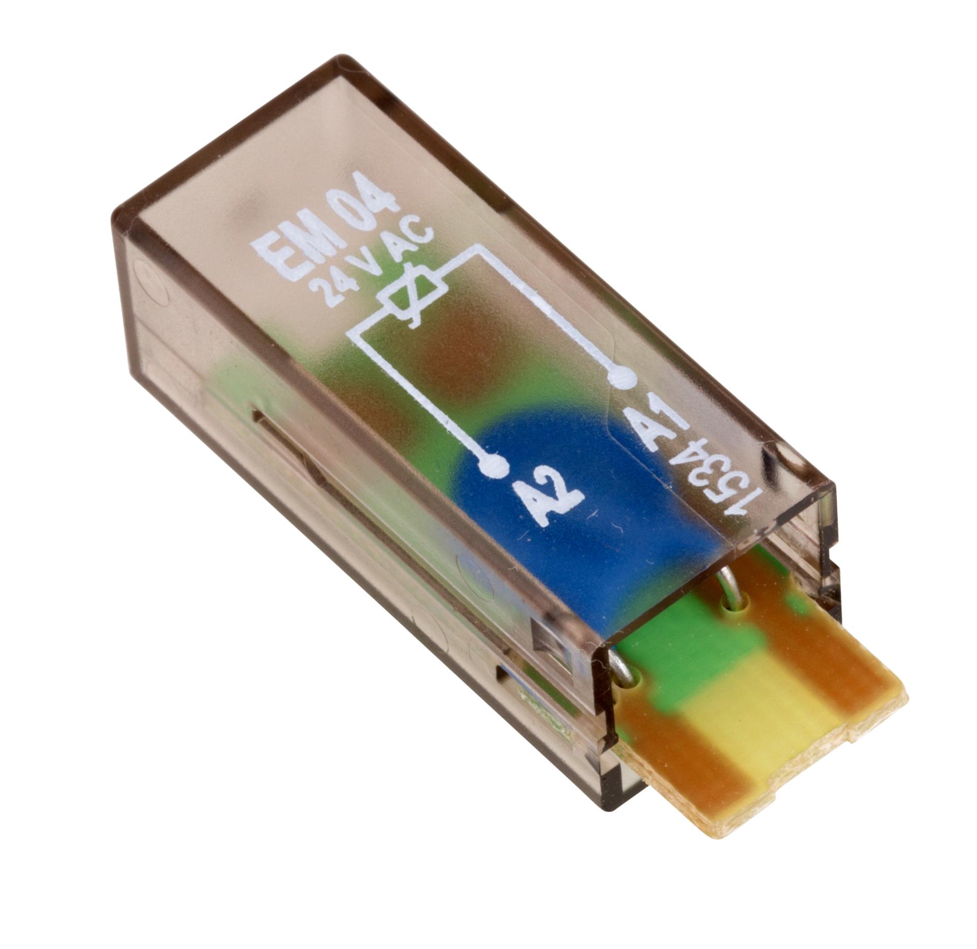 1 Stk Varistor-Steckmodul, 24V-AC, EM04 YMVAW024--