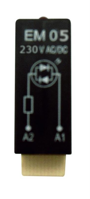 1 Stk Varistor-Steckmodul, 230V-AC, EM05 YMVAW230--