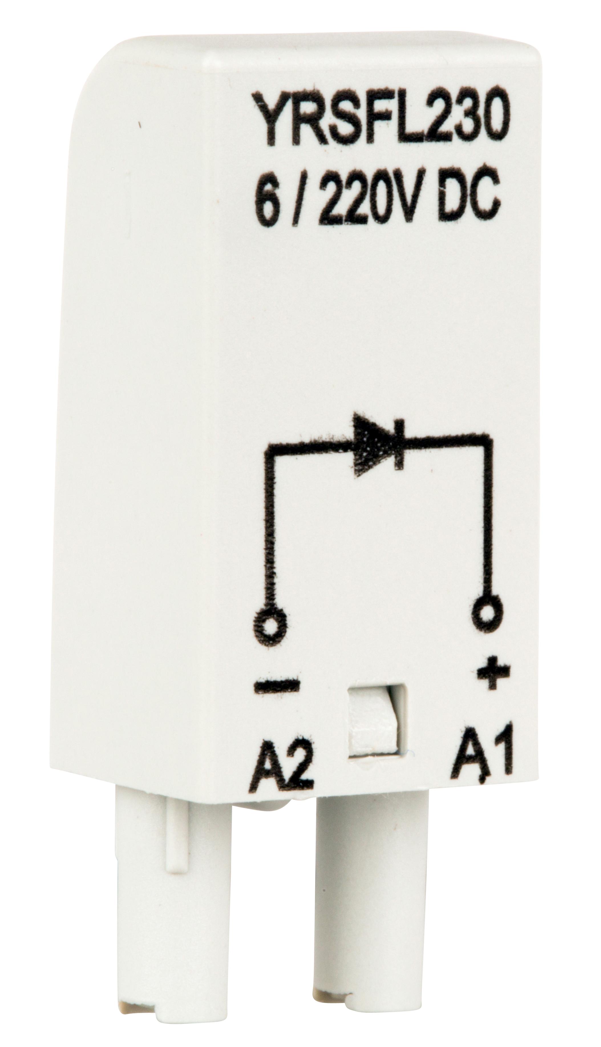 1 Stk Freilaufdioden-Modul 6-230V DC, A1+, S-Relay Serie 4 YRSFL230--