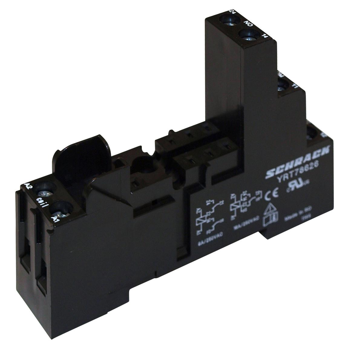 1 Stk Steckfassung mit Schraubanschlüssen Pinning 5mm schnappbar YRT78626--